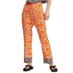 Free People Make My Day Tapestry Pants. S